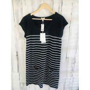 SOFT Joie Kaelem Cotton Knit Shift Dress Black